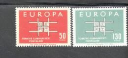 CEPT Ornament Türkei 1888 - 1889 ** Postfrisch MNH - Europa-CEPT