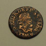 1612 - France - DOUBLE TOURNOIS, LOUIS XIII, (M), Gad 6 - 987-1789 Geld Van Koningen
