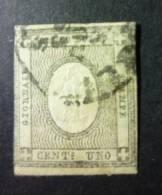 ITALIA 1861: Sassone 7, O - FREE SHIPPING ABOVE 10 EURO - 1861-78 Vittorio Emanuele II
