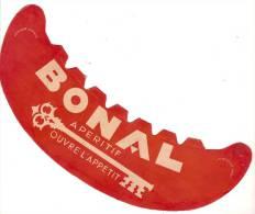 Chapeau PublicitaireVisiére En Carton/BONAL/Apéritif/ Vers 1950       JE49 - Publicidad