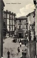 Aversa (Caserta). Piazzetta San Paolo. - Caserta