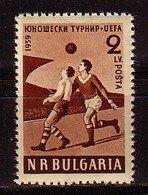BULGARIA / BULGARIE - 1959 - European Youth Footballe Cup - Bl De 4 ** MNH - 1945-59 People's Republic