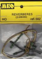 - MKD - Réverbères - HO Ou 1/87° - Réf 562 - Elektrische Artikels