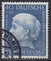 Bundespost Mi.203 Gestempeld - [7] West-Duitsland