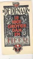 ( 67) TEKENING VAN  R.J DE BUCK? / PRIESTERWIJDING VAN IVO R BILLIAERT TE POSTEL/OOSTENDE 1955 - Images Religieuses