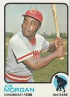 CARDS BASEBALL -JOE MORGAN (CINCINNATI REDS) -1972 - Honkbal