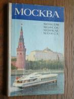 MOSCOW / MOSCOU / MOSKAU / MOSCU - CARNET Color Prenten ( Carnet 16,5 X 11 Cm. - Zie Foto´s Voor Details ) !! - Russie