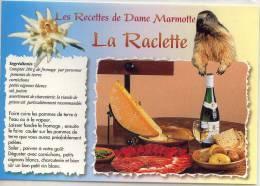Les Recettes De Dame Marmotte LA RACLETTE - Recetas De Cocina