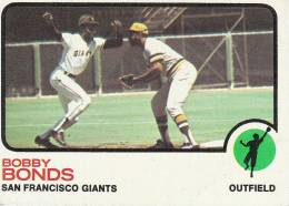 CARDS BASEBALL -BOBBY BONDS (SAN FRANCISCO GIANTS) -1972 - Baseball - Minors (Lega Minore)