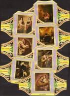 7 Large Cigar Bands -  Baque De Cigare   -  Alvaro  -  Series Painters -  Murillo III - Bauchbinden (Zigarrenringe)