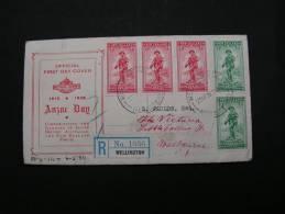 == NZ Cv. Welington 1936  FDC  ?? - 1907-1947 Dominion