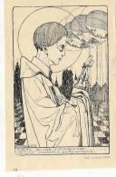 ( 88 ) TEK.JOS SPEYBROUCK :H.JOH.BERCHMANS: PRIESTERWIJDING TE LUIK VAN ALFONS NOUWKENS 1931 - Images Religieuses