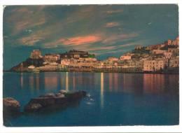 G1872 Ponza (Latina) - Porto - Notturno / Viaggiata 1964 - Italia