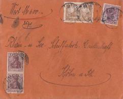 DR Wertbrief Mif Minr.114,2x 140,146 Mannheim 28.2.21 - Covers & Documents