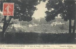 ILE DE FRANCE - 95 - VAL D'OISE - CORMEILLES EN PARISIS - Vue Prise Du Square - Cormeilles En Parisis