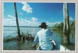 Amérique-BRESIL-BRASIL-en Amazonie. Double Carte Voir Descriptif- Editions :Missionnaires Du Saint-Esprit Photo Gelmetti - Brésil