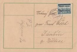 Böhmen Und Mähren Karte EF Minr.26 Prag 27.9.39 - Besetzungen 1938-45