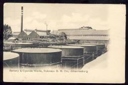 South Africa    JOHANNESBURG Battery & Cyanide Works - Afrique Du Sud