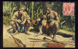 South African Native Life  NATIVES SMOKING  1913 - South Africa