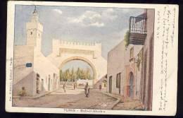 Tunisia    TUNIS      BAB EL KHADRA   1908 - Tunisie