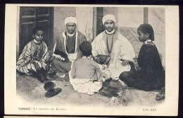 Tunis   LA LECTURE DU KORAN - Tunisia
