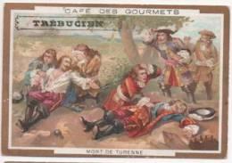 Chromo Dorée - Chocolat Des Gourmets - TREBUCIEN - Café Des Gourmets - Mort De Turenne - Schokolade