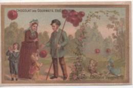 Chromo Dorée - Chocolat Des Gourmets - TREBUCIEN - Café Des Gourmets - Les Ballons Rouges - Cioccolato