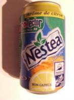 Alt212 Lattina Bibita Boite Boisson Can Drink Lata Bebida Nestea Thè Citron France 1998 - Cannettes