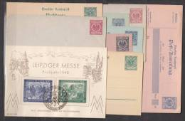 Germany Reich, Nice Stationery And More Lot - Alemania