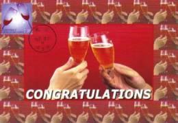 13a: Taiwan Celebration Congratulation Toasting Drink Wine Cheers Maximum Card Maxicard MC - Feste