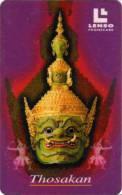 Thosakan : Le Roi Des Géants Avec Le Corps Vert, 10 Masques, 20 Mains - Thaïlande