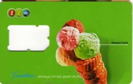 Carte Sim 1-2-CALL : 4 Boules Des Glaces - Thaïlande
