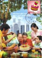 13a: Taiwan Cake Celebration Birthday Maximum Card Maxicard MC - Unclassified
