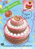 13a: Taiwan Cake Celebration Birthday No2 Maximum Card Maxicard MC - Fêtes