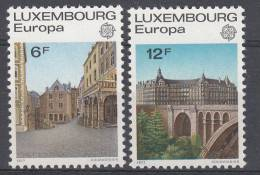 LUXEMBOURG MNH** MICHEL 945/46 EUROPA 1977 - Europa-CEPT