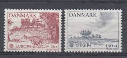 DENMARK MNH** MICHEL 639/40 EUROPA 1977 - 1977