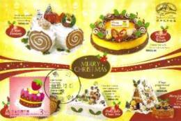 13a: Taiwan Cake Celebration Birthday No3 Maximum Card Maxicard MC - Fêtes