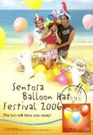 13a: Taiwan Ballon Celebration Party Birthday No1 Maximum Card Maxicard MC - Feste