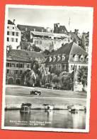 C1033 Murten Morat, Kreuz-Terrasse Am  Murtensee.barques, Jeep. - FR Fribourg