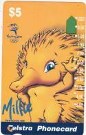 AUSTRALIA -  Sydney 2000 Olympic Mascots/Millie, Tirage 53000, Used - Jeux Olympiques