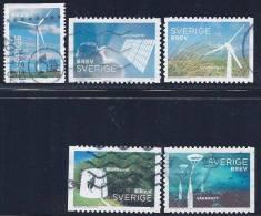 Sweden, Scott # 2657,2658a-d Used Energy Generators, 2011 - Sweden