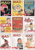 """9 CARDS COVER"""" MAD"""" -LOTTO 2 - Libri, Riviste, Fumetti"""