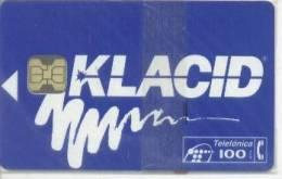 Spain Chip Phonecard, P-031 Klacid, Mint In Blister, - España