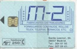 Spain Chip Phonecard, P-048 M-2, Mint In Blister, - España