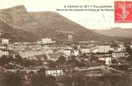 Vence. Le Baou De St Jeannet , Le Baou De La Gaude Et Vue Generale De Vence. - Vence
