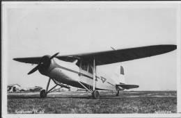 AIRPORT YPENBURG Den Haag Koolhoven  FK -43 STAMP 1952 - Aérodromes