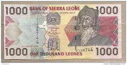 Sierra Leone - Banconota Non Circolata Da 1000 Leones - 2006 - Sierra Leone
