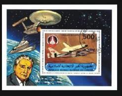 Komoren / Comores: 'Space Shuttle - Enterprise - Eugen Sänger, 1981', Mi. Bl. 227; Yv. BF 30; Sc. 255 Oo