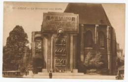 59 - Lille        Le Monument Aux Morts - Lille