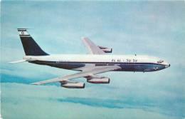 Réf : A -13- 866 :  Boeing 720B Israël Airlines EL AL - 1946-....: Moderne